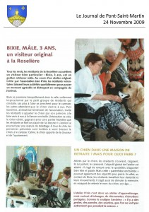 2009_11 - Journal de Pont Saint Martin