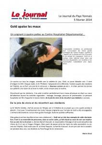 Ouest France, Juin 2014