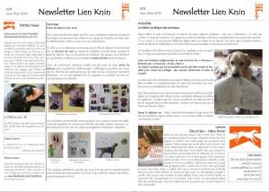 Newsletter N°8