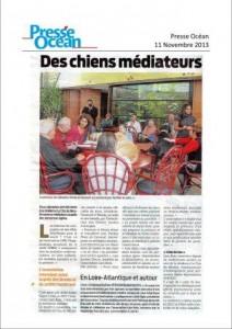 Presse Océan - Des chiens médiateurs site