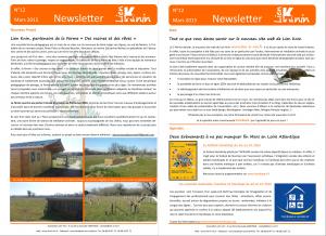 Newsletter N°12
